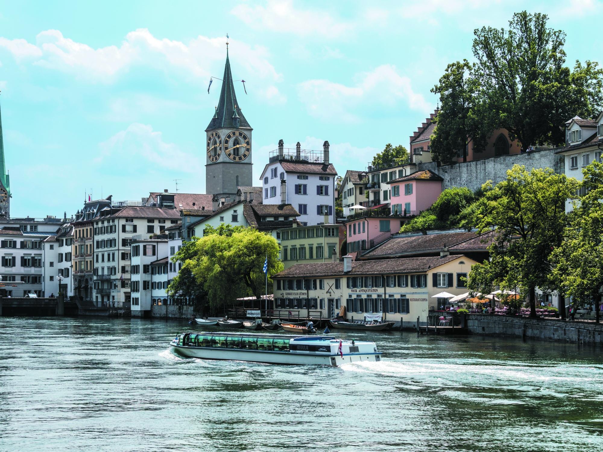The Old Town of Zürich, Switzerland