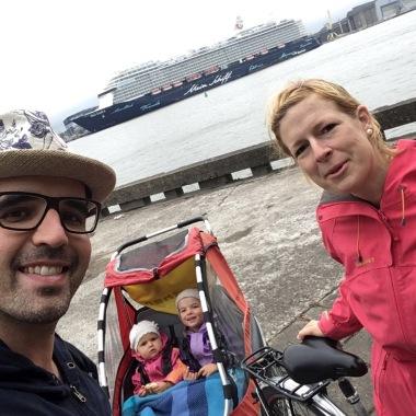 Fahrradtour mit der Familie auf der Kurischen Nehrung