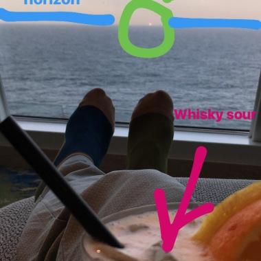 Entspannen in der Himmel & Meer Lounge
