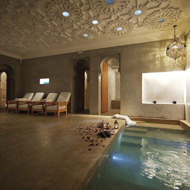 Le Bain Bleu, a private hammam (photo: leblainbleu.com)
