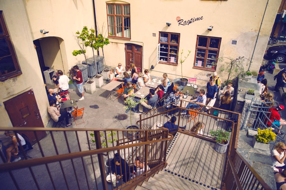 da Matteo café in Gotheburg