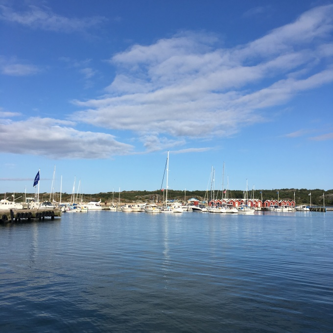 The marina of Donsö in the southern Gothenburg archipelago