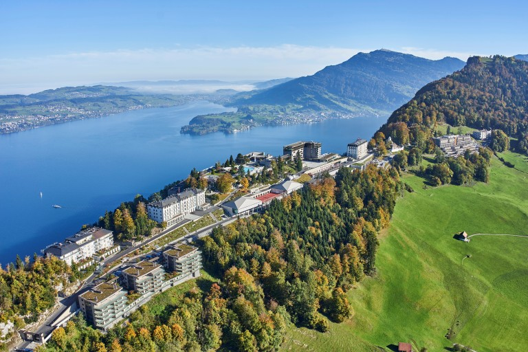The Bürgenstock Resort high above Lake Lucerne