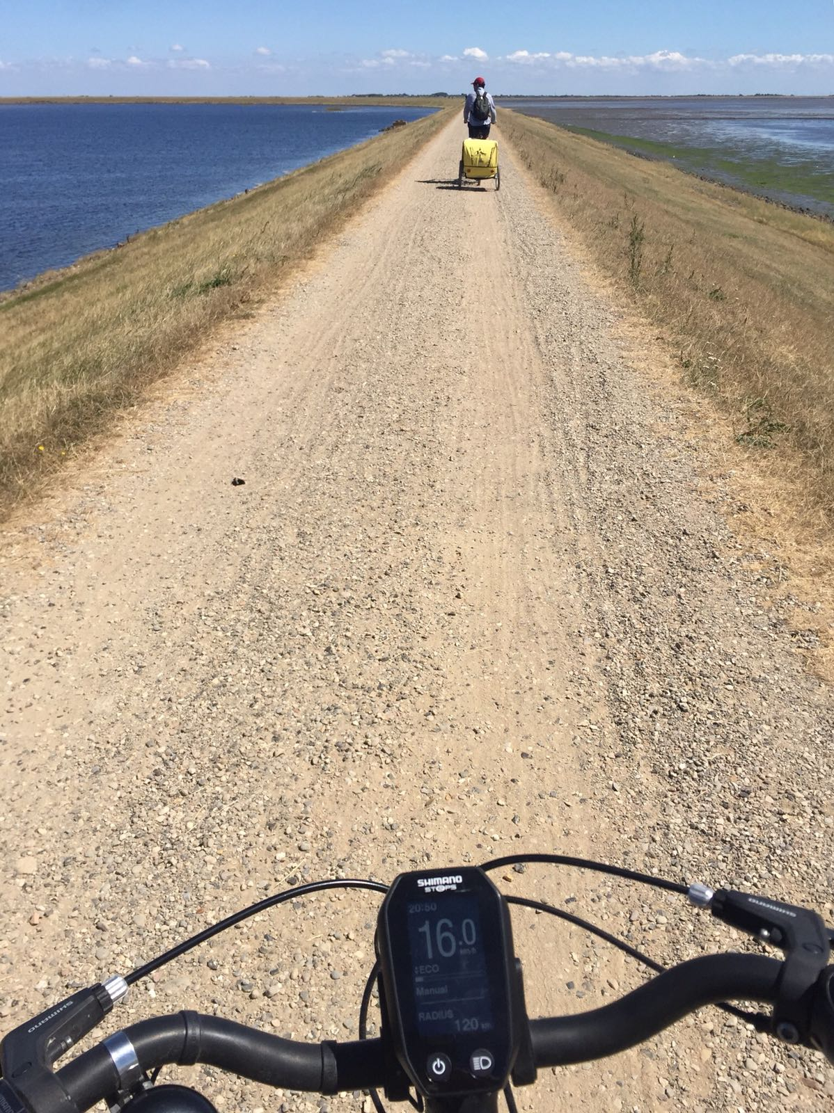E-bike ride around the Rantum basin