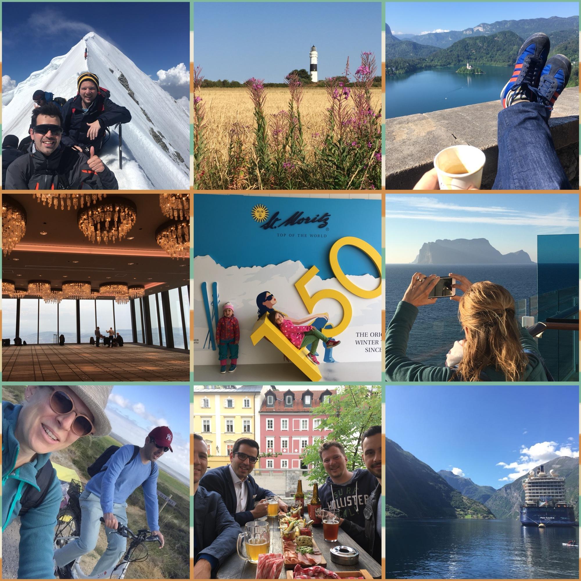 Best nine travel pictures 2018 of Reto's Little Travel Blog