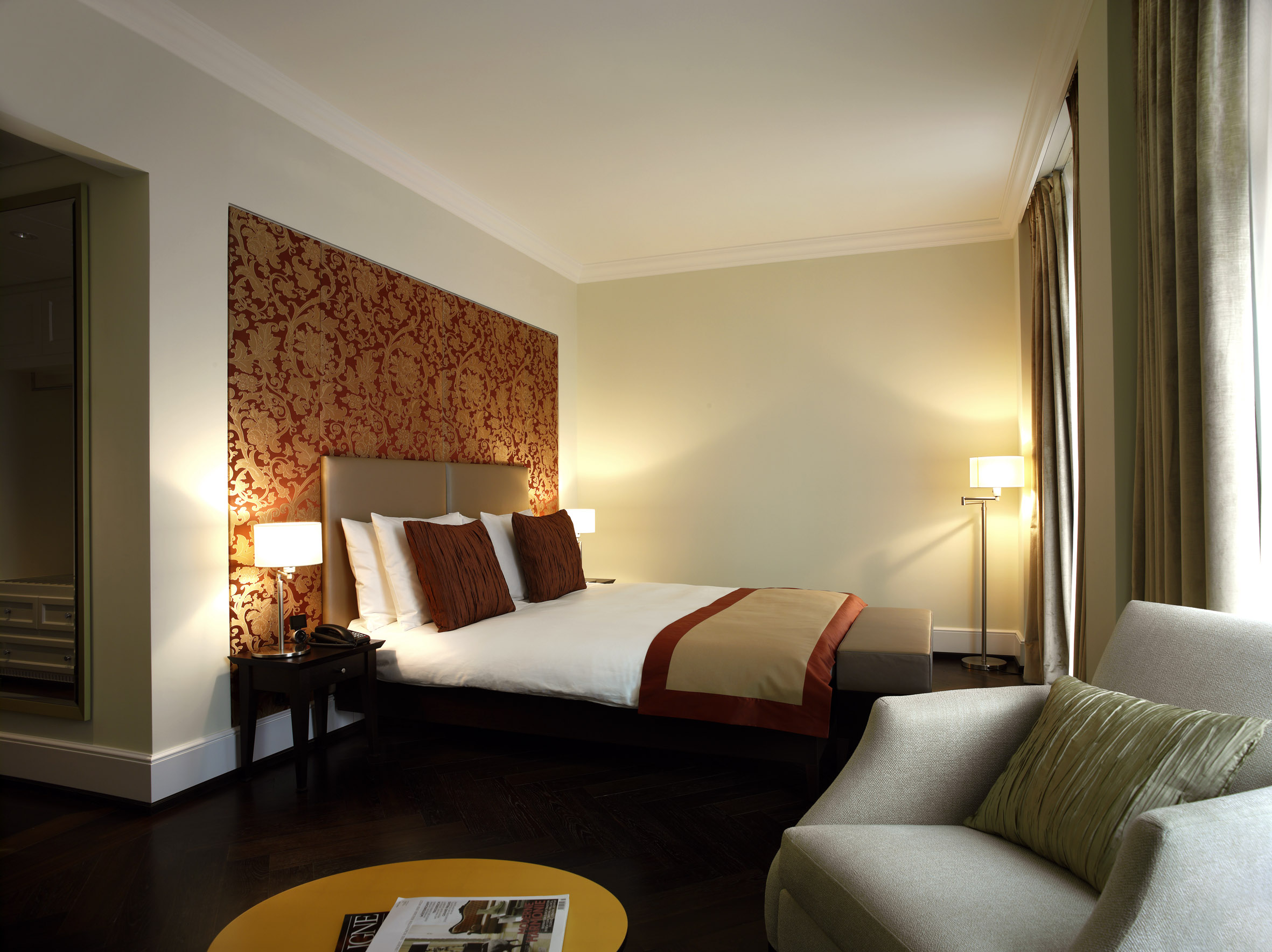 Double Room Deluxe in the Dolder Grand hotel